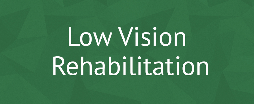 Low Vision Rehabilitation